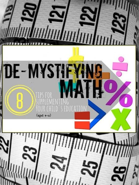 8 Tips for Supplementing Your Child's Math Education - Tipsaholic
