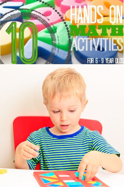 10 Hands-On Math Activities (for Ages 6-9) - Tipsaholic.com