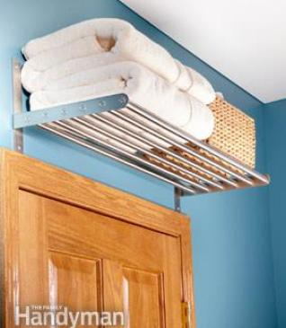 above door shelves