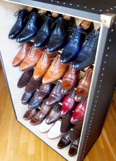 shoe storage trunk