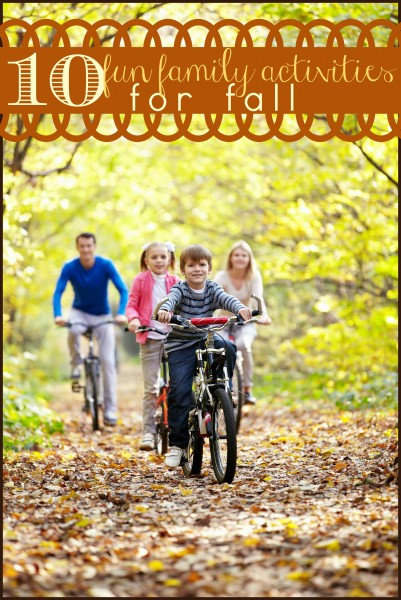 Fall is a great time to enjoy your family. For lots of ideas check out these 10 Fun Family Activities for Fall - tipsaholic, #fall, #familyfun, #autumn, #family