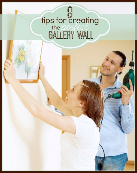 9 Tips for Creating the Perfect Gallery Wall - Tipsaholic, #gallerywall, #art, #DIY, #artwall, #photos, #pictures