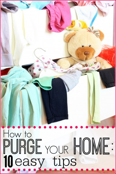 How to Purge Your Home - Tipsaholic