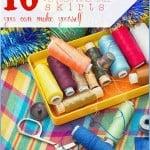 10 Festive DIY Christmas Tree Skirts - Tipsaholic