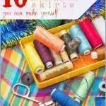 10 Festive DIY Christmas Tree Skirts - Tipsaholic