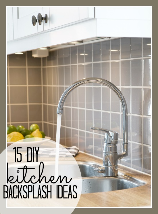 Surprising Remodelaholic 15 Diy Kitchen Backsplash Ideas Download Free Architecture Designs Embacsunscenecom
