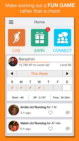 Downloading a fitness app is a great way to maintain a healthy lifestyle. Here are 10 of the best free fitness apps for your Android or iPhone. - Tipsaholic.com #fitness #apps #iphone #health #healthandweightloss