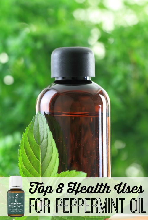 Boost your health naturally with essential oils! Try these uses for peppermint oil to relieve everyday ailments and promote mental and physical health. Top 8 Health Uses for Peppermint Oil via tipsaholic.com #peppermint #health #essentialoils #younglivingoils #peppermintoil