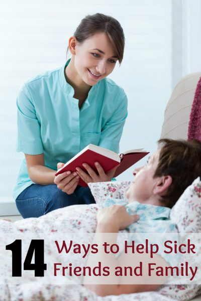 """Don't just say """"call if you need anything."""" Use these ideas to help sick friends and family and make a real difference during their time of need. 14 Ways to Help Sick Friends and Family ~ Tipsaholic.com #help #sick #illness"""