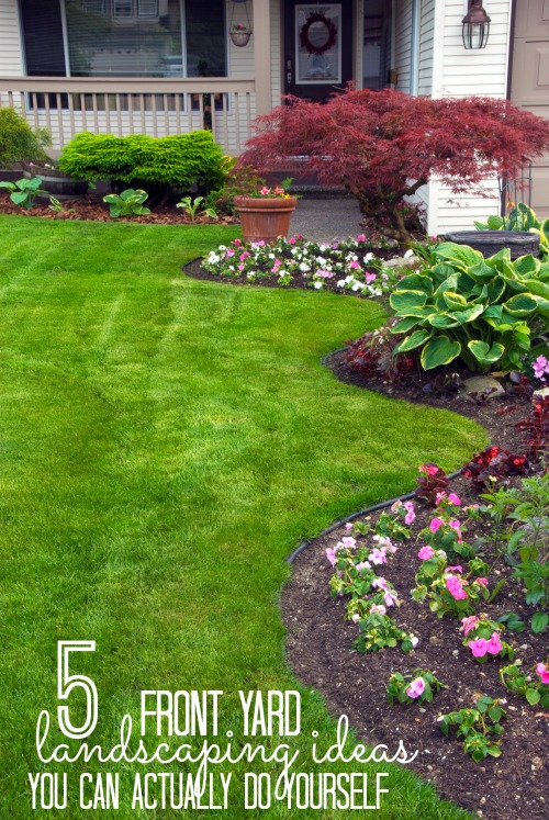 Remodelaholic 5 Front Yard Landscaping Ideas You Can