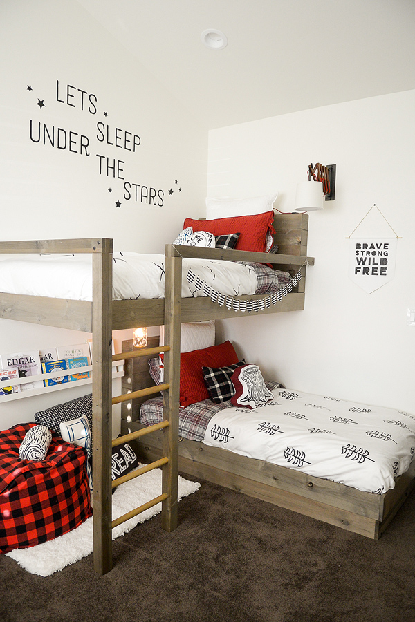 25 Stellar Shared Bedrooms for Kids - Tipsaholic