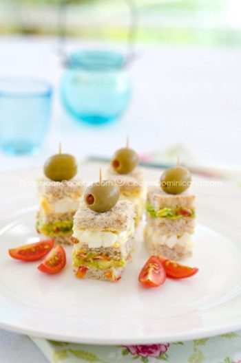 Don't settle for boring appetizers at your next party. Give a buffet table a boost with these ten recipes for delicious tea sandwiches both savory an sweet. 10 Tasty Tea Sandwiches for Any Event ~ Tipsaholic.com #teaparty #teasandwich
