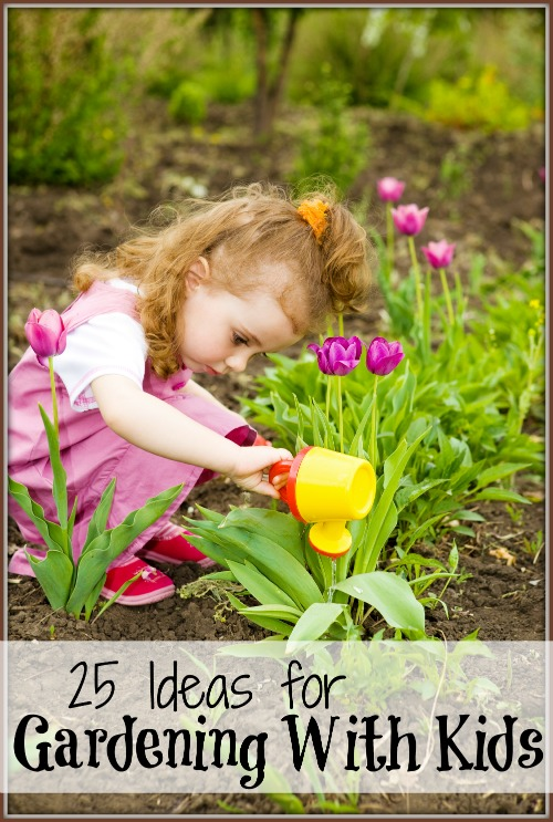 Remodelaholic | 25 Ideas for Gardening With Kids
