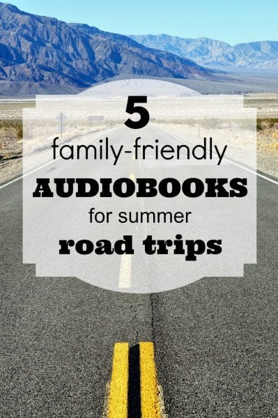 "For this summer's family road trip, put a stop to ""Are we there yet?"" with these five family-friendly audiobooks. 5 Family-Friendly Audiobooks for Summer Road Trips - Tipsaholic.com #audiobooks #family #books #summerfamilyactivities"