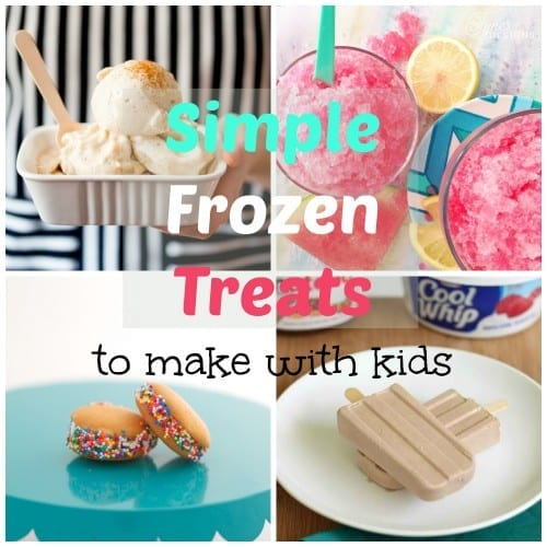 Frozen Treats to Make With Kids