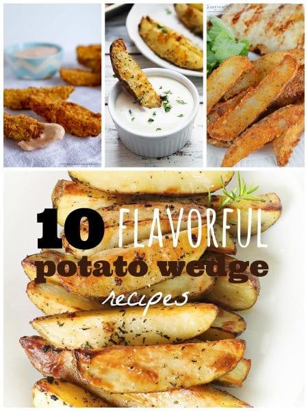 10 Flavorful Potato Wedge Recipes ~ Tipsaholic.com