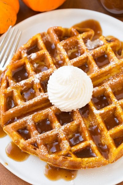 There's just something about a warm, thick waffle that makes brunch extra-special. Try one of these 25 waffle recipes for your next brunch. 25 Waffle Recipes That Are Perfect for Brunch via @tipsaholic #waffles #breakfast #brunch #recipes