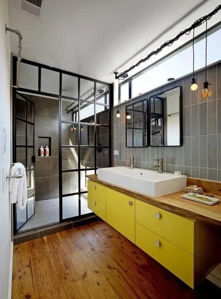 25 Inspiring and Colorful Bathroom Vanities via @tipsholic #bathroom #vanity #colorful #colors #homedecor
