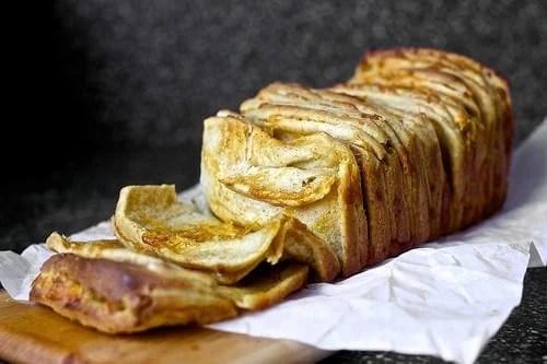 cheddar beer mustard pull apart bread recipe