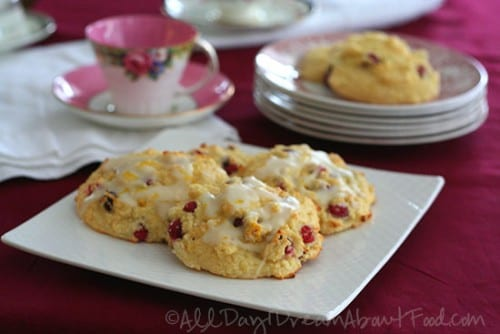 Gluten-Free Bread Recipes - cranberry orange drop scones gluten-free bread recipe