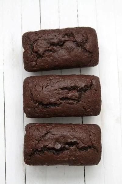 double chocote banana bread sweet bread recipe