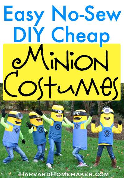 55 amazing no sew halloween costumes for kids tipsaholic halloween minions