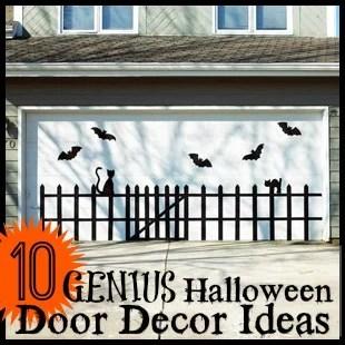 10 Genius Halloween Door Decor Ideas - Tipsaholic