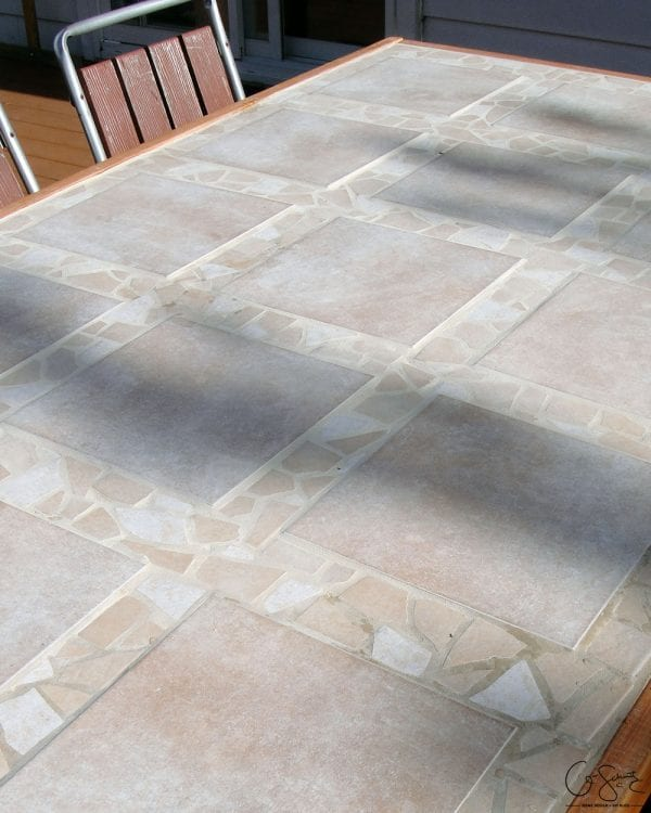 Replacement Tiles For Patio Table : replacement, tiles, patio, table, Remodelaholic, Replace, Patio, Table