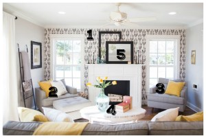 fixer upper living farmhouse chicken rooms contemporary powder remodelaholic bold decorating elements bloglovin