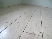 Remodelaholic | DIY Plywood Flooring Pros and Cons + Tips