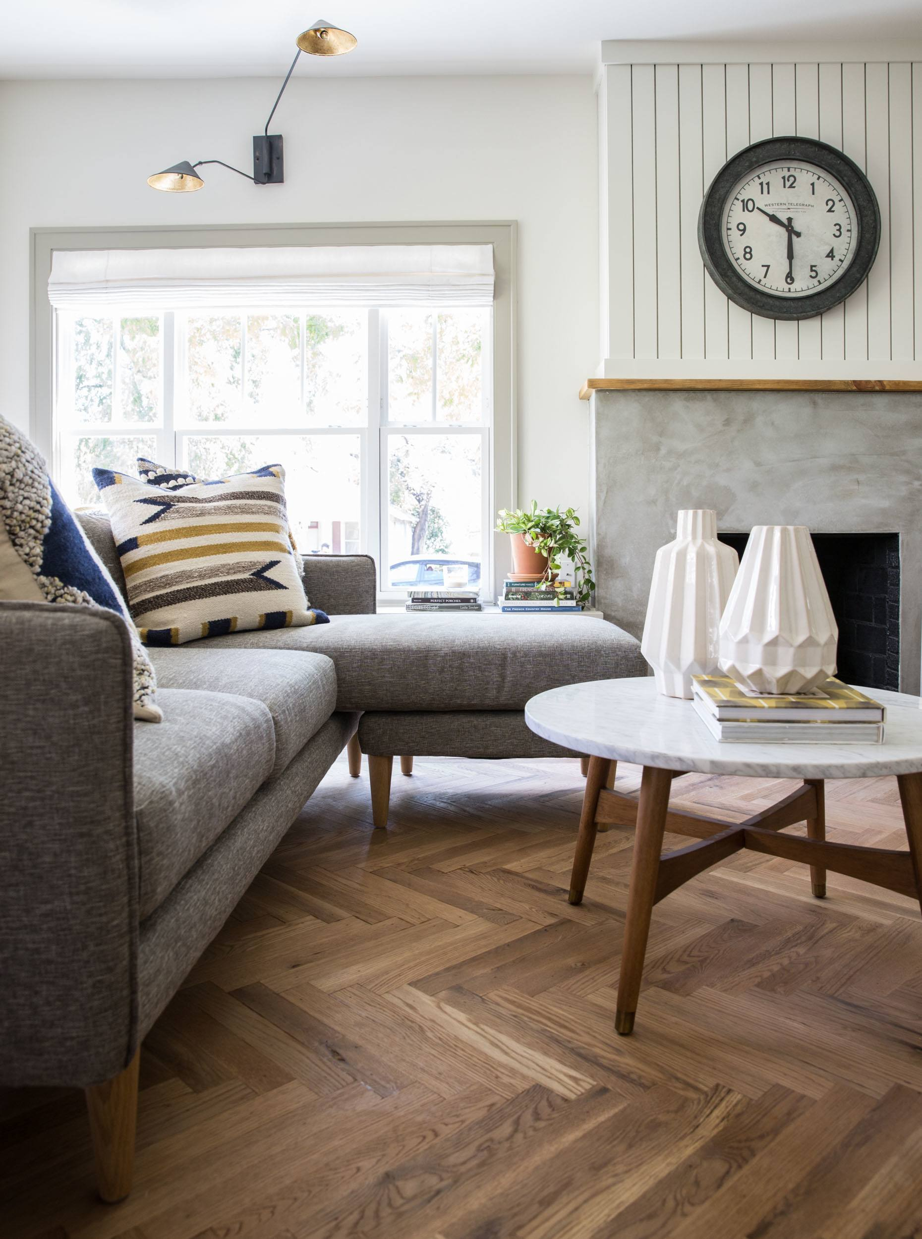 Bungalow Fireplace Mantel Remodelaholic | Get This Look: Fixer Upper Giraffe House