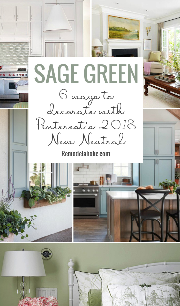 Remodelaholic Sage Green 6 Ways To Decorate Your Home With Pinterest S 2018