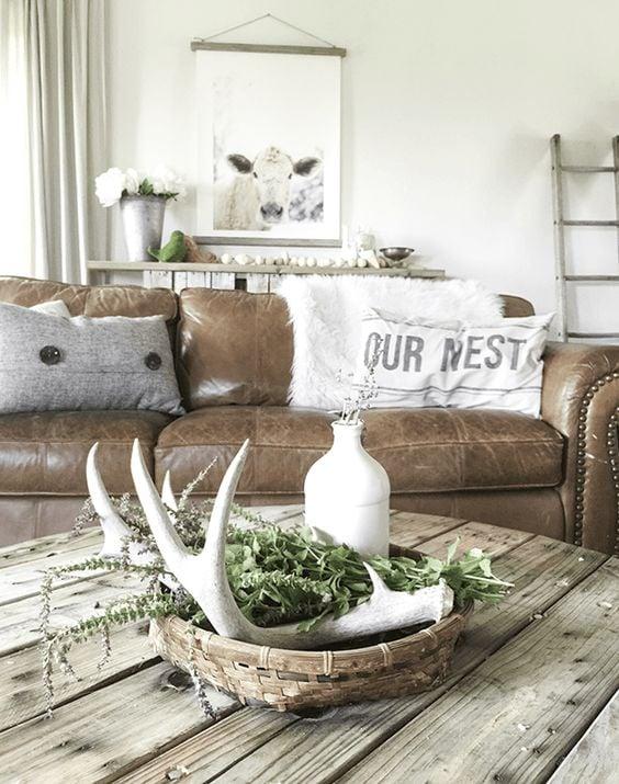 Farmhouse Style Sectional : farmhouse, style, sectional, Remodelaholic, Modern, Farmhouse, Living, 00!