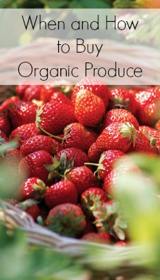 When and How to Buy Organic Produce | Tipsaholic.com #healthy #organic #shopping #produce #fruits #vegetables
