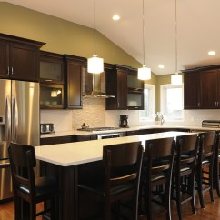 Amish Kitchen Cabinets Chicago Stonewall Salsa Cabinetry Installation