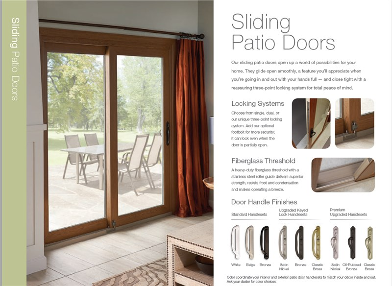 ecosmart patio doors the right fit