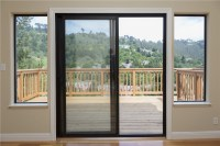Northern California French Rail Patio Door