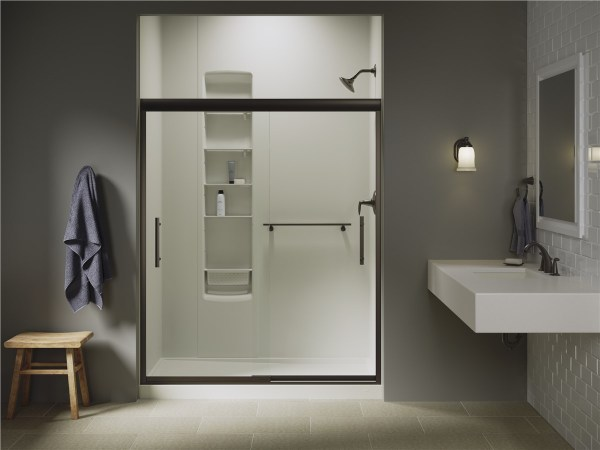 Bathrooms with Walk-In Showers