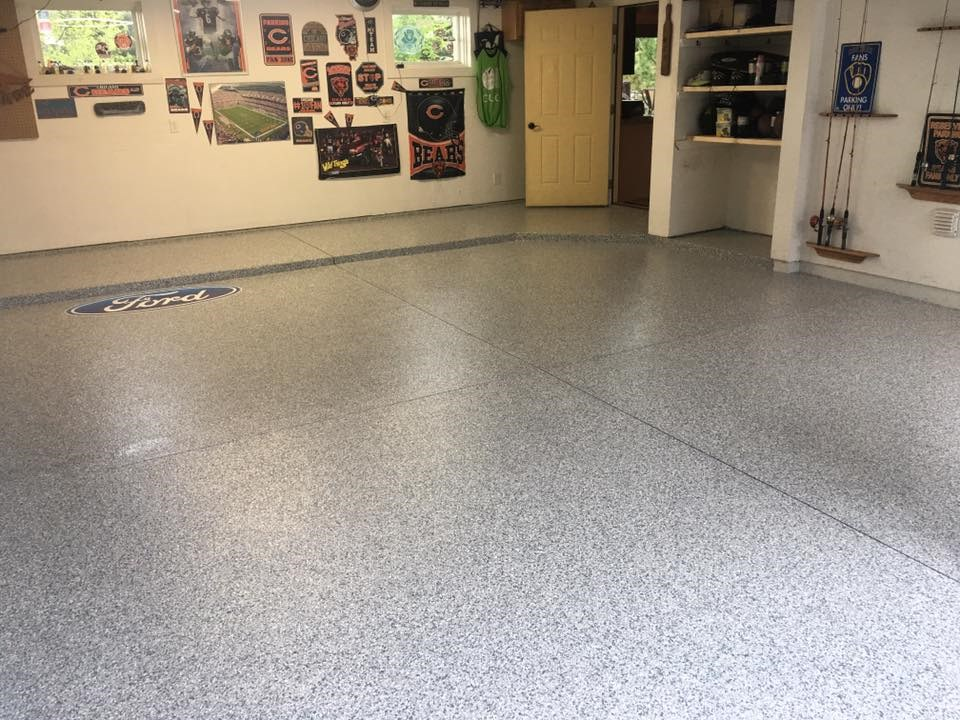 Garage Floor Coatings for Rockford Homes  TSR