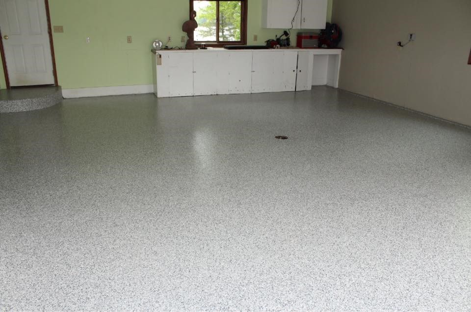 One Day Epoxy Floor Coating for Madison Homeowners