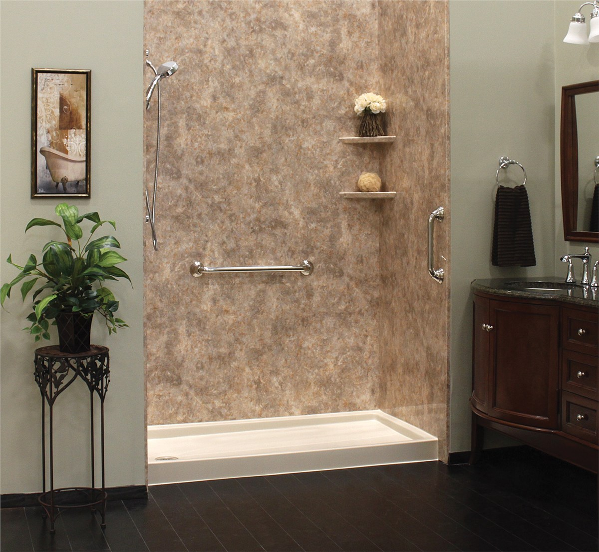 Green Bay WalkIn Showers  Madison WalkIn Showers  Tundraland