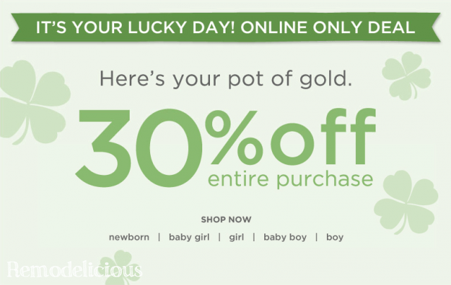 Gymboree flash sale