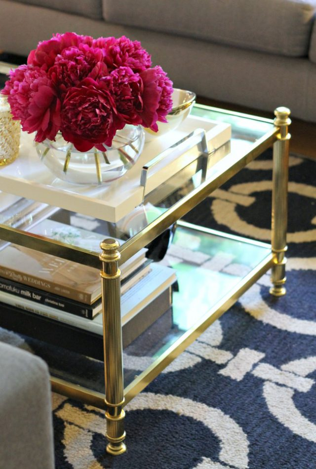 Who's ready to go treasure hunting at grandma's house for a beautiful coffee table like this one?  via Mint Love Social Club