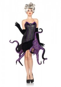 Sexy Ursula the sea witch costume