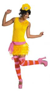 Big Bird the Flapper Sexy Womens Halloween Costume