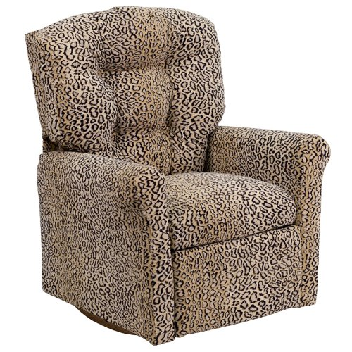 How adorable is this animal print kids recliner?  Plus, it's budget friendly and Amazon.com has it at a great discount.