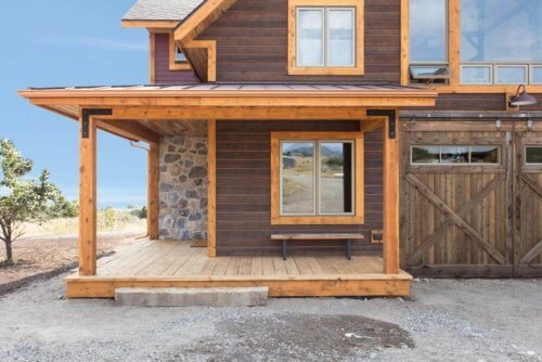 Channel Rustic Siding From Reclaimed Lumber