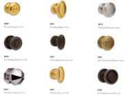 different types of door knobs