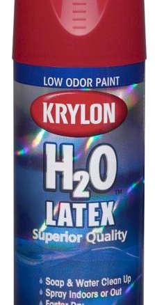 Krylon H20 Latex Spray Paint : krylon, latex, spray, paint, Krylon, Latex, Aerosol, Spray, Paint