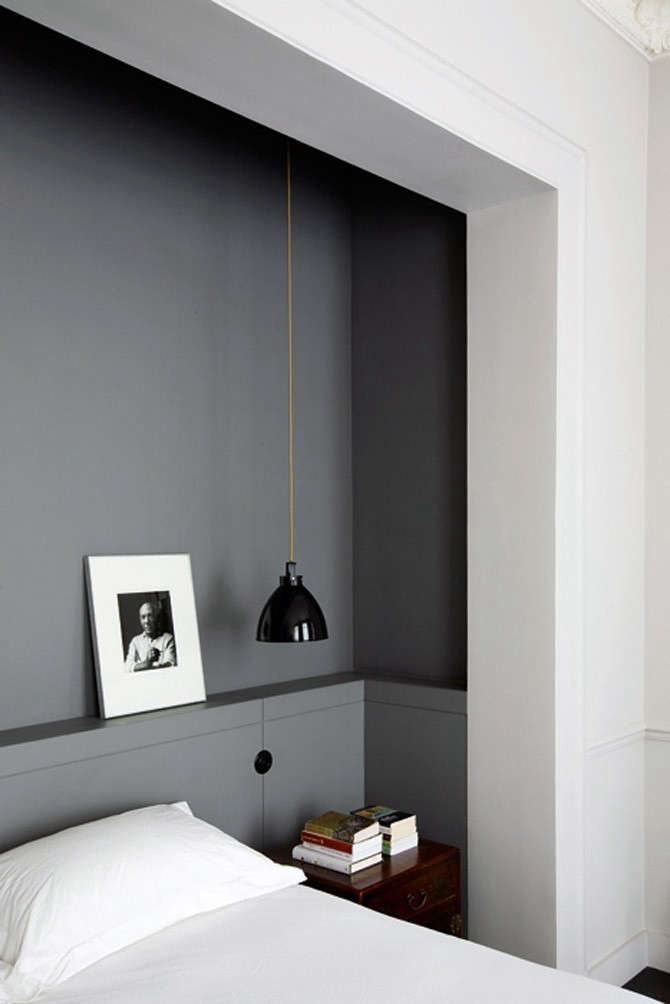 Recessed Wall Bed